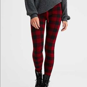Plaid Sweater Leggings AEO